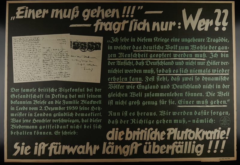 1995.96.45 front Nazi propaganda poster