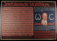 1995.96.49 front Nazi propaganda poster  Click to enlarge