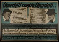1995.96.5 front Nazi propaganda poster  Click to enlarge
