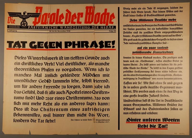 1995.96.51 front Nazi propaganda poster