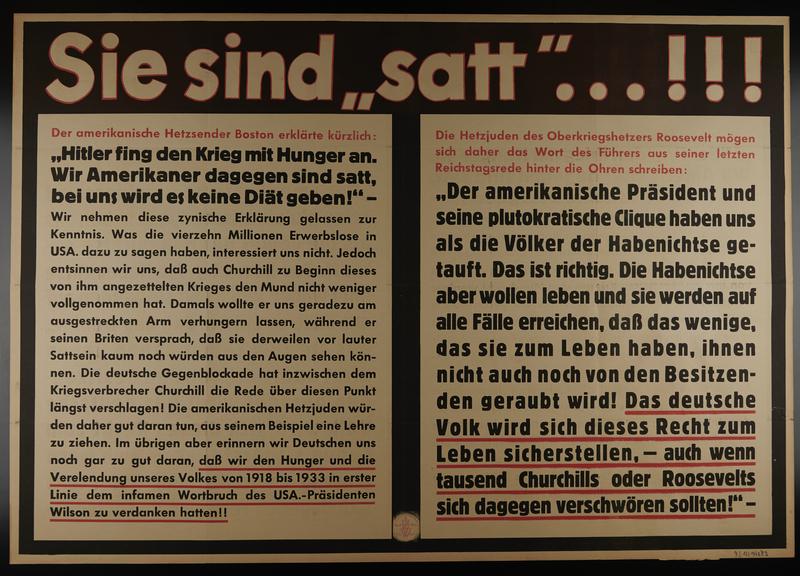 1995.96.54 front Nazi propaganda poster