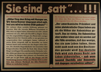 1995.96.54 front Nazi propaganda poster  Click to enlarge