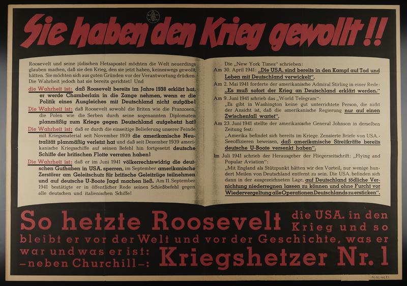 1995.96.55 front Nazi propaganda poster