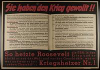 1995.96.55 front Nazi propaganda poster  Click to enlarge
