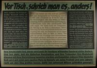 1995.96.58 front Nazi propaganda poster  Click to enlarge