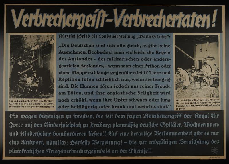1995.96.6 front Nazi propaganda poster