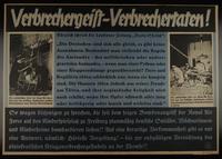1995.96.6 front Nazi propaganda poster  Click to enlarge