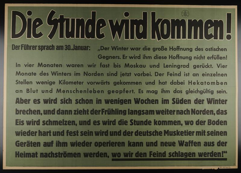 1995.96.61 front Nazi propaganda poster