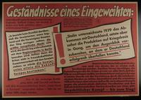 1995.96.63 front Nazi propaganda poster  Click to enlarge