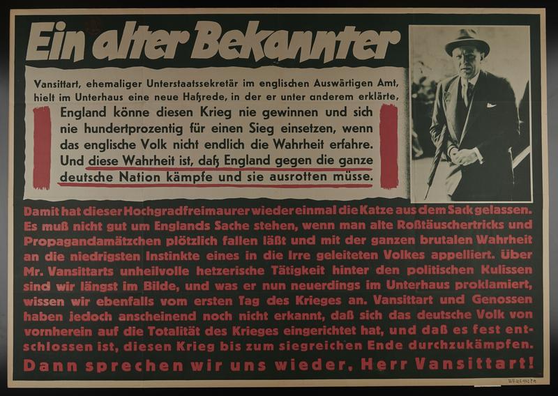 1995.96.68 front Nazi propaganda poster