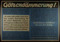 1995.96.70 front Nazi propaganda poster  Click to enlarge