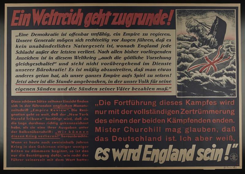 1995.96.72 front Nazi propaganda poster