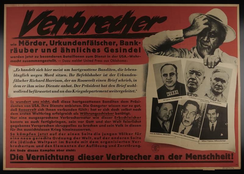 1995.96.75 front Nazi propaganda poster