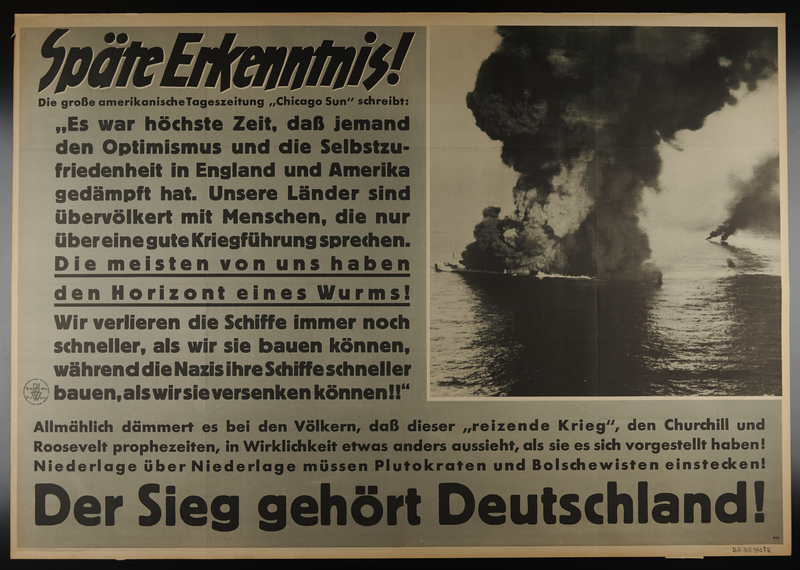 1995.96.76 front Nazi propaganda poster