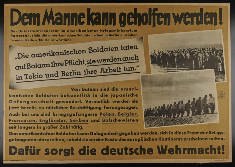 1995.96.77 front Nazi propaganda poster