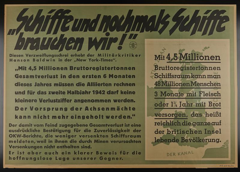1995.96.78 front Nazi propaganda poster