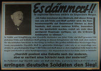 1995.96.79 front Nazi propaganda poster  Click to enlarge
