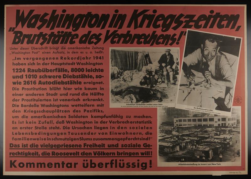 1995.96.80 front Nazi propaganda poster