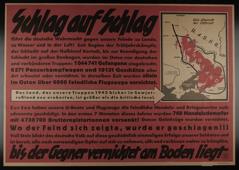 1995.96.84 front Nazi propaganda poster