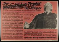 1995.96.87 front Nazi propaganda poster  Click to enlarge