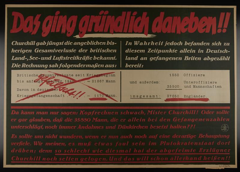 1995.96.9 front Nazi propaganda poster