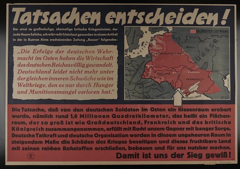 1995.96.91 front Nazi propaganda poster