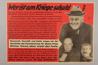 1995.96.93 fromt Nazi propaganda poster  Click to enlarge