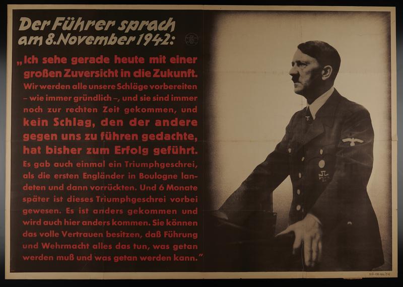 1995.96.94 front Nazi propaganda poster