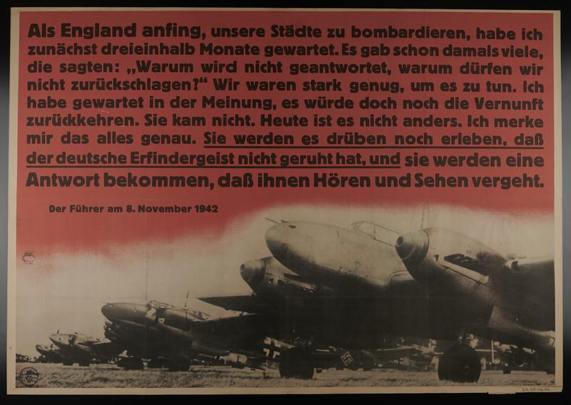 1995.96.95 front Nazi propaganda poster