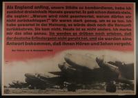 1995.96.95 front Nazi propaganda poster  Click to enlarge