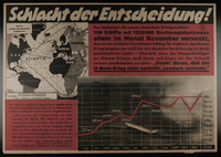 1995.96.96 front Nazi propaganda poster  Click to enlarge