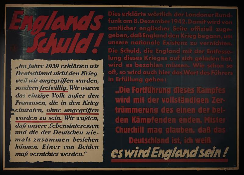 1995.96.97 front Nazi propaganda poster