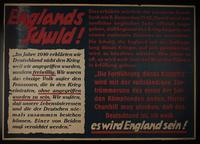 1995.96.97 front Nazi propaganda poster  Click to enlarge