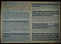 1995.96.98 front Nazi propaganda poster  Click to enlarge