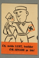 1995.97.12 front Anti-Nazi political leaflet  Click to enlarge