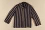 Concentration camp uniform jacket worn by Polish Jewish inmate