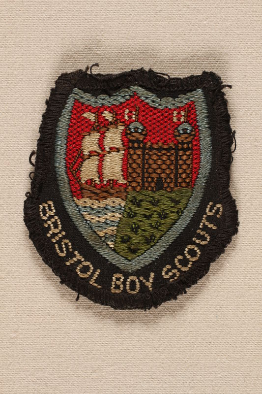 1996.127.1 front Boy Scout badge