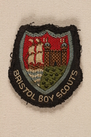 1996.127.1 front Boy Scout badge  Click to enlarge