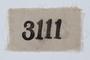 Prisoner identification badge