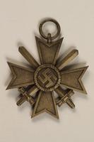 1996.163.3 front War Merit Cross  Click to enlarge