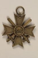 1996.163.3 back War Merit Cross  Click to enlarge
