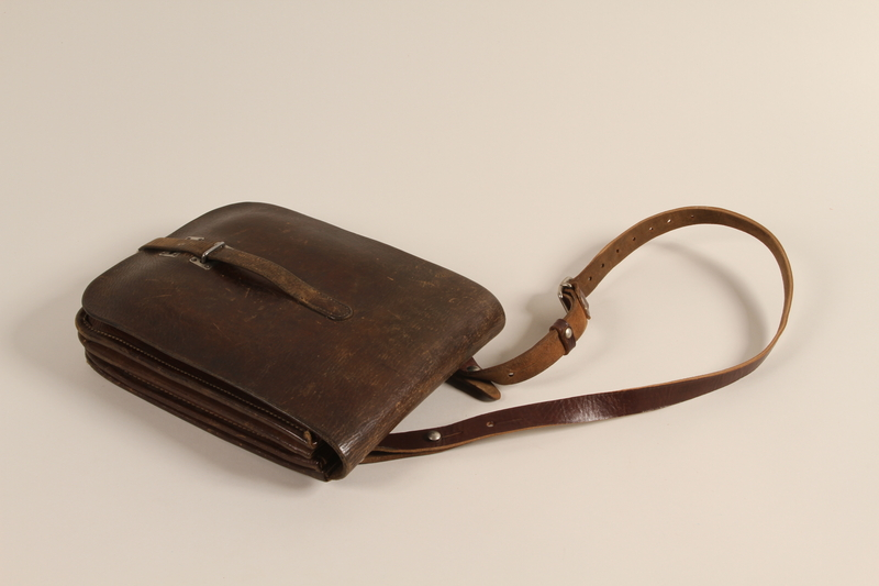 1996.2.5 front Satchel carried by partisans in Lithuania