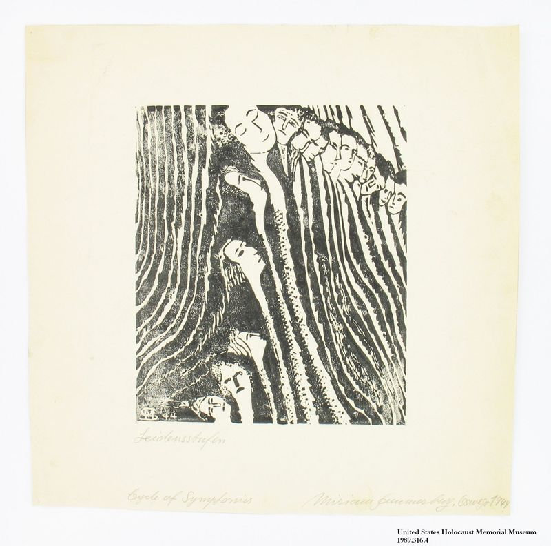 Miriam Sommerburg Artwork Collection Image, 1989.316.4 Woodcut