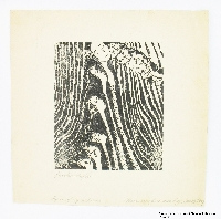 Miriam Sommerburg Artwork Collection Image, 1989.316.4 Woodcut  Click to enlarge
