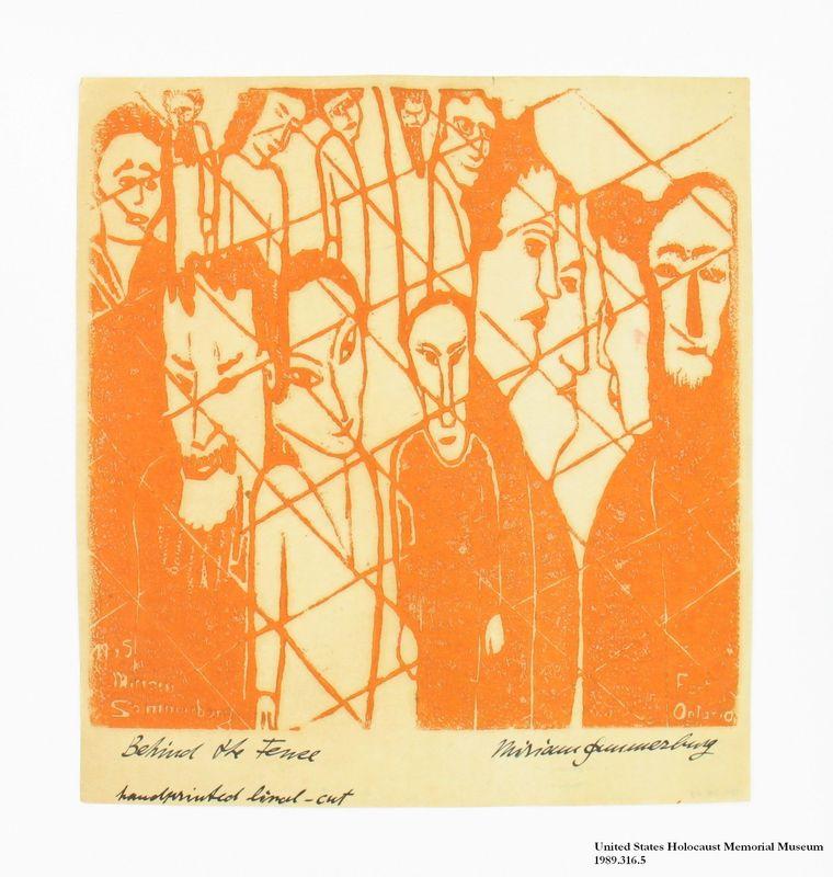 Miriam Sommerburg Artwork Collection Image, 1989.316.5 Linocut