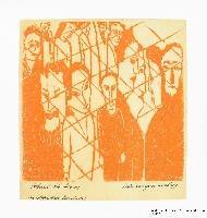 Miriam Sommerburg Artwork Collection Image, 1989.316.5 Linocut  Click to enlarge
