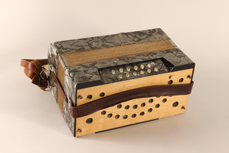 1989.319.3_a back Accordian which belonged to a Romanian Romani