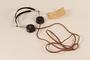 Julius Streicher's Nuremberg war crimes trial headphones