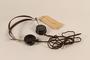 Walther Funk's Nuremberg war crimes trial headphones