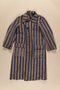 Concentration camp uniform coat worn by a Polish Jewish prisoner